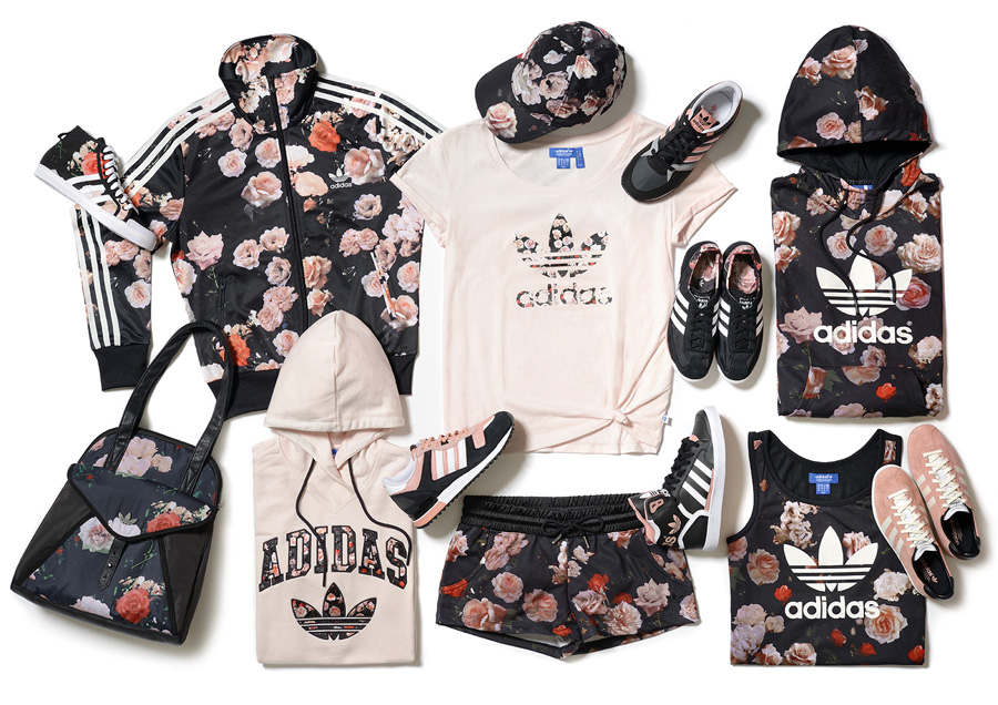 Adidas originals stud n roses collection